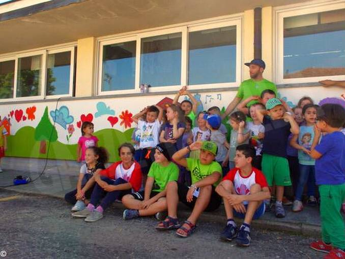 Murales scuola infanzia via Balbo (1)