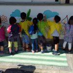 Negli asili di Alba, murales d'artista con Be street e Truly design