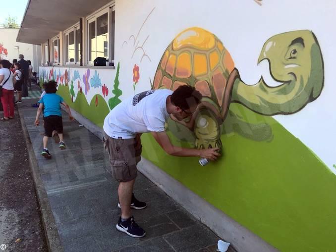 Murales scuola infanzia via Balbo (2)