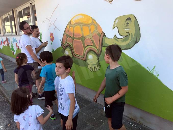 Murales scuola infanzia via Balbo (3)