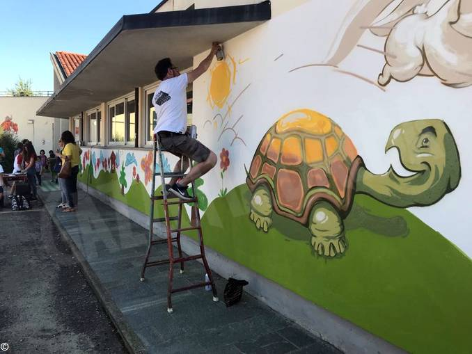 Murales scuola infanzia via Balbo (5)