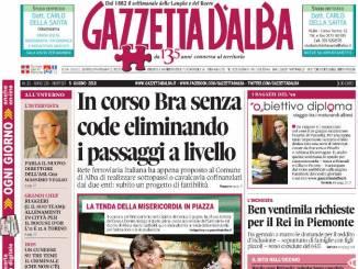 La copertina di Gazzetta in edicola martedì 5 giugno