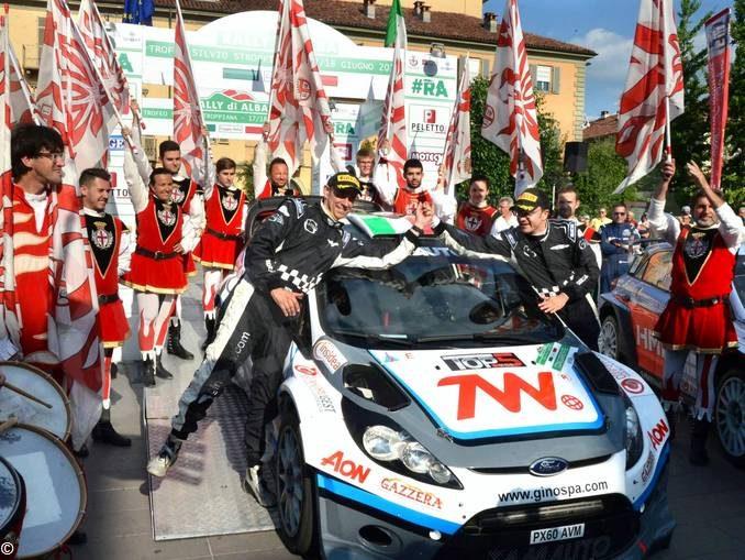 Fine settimana con il Rally di Alba 1