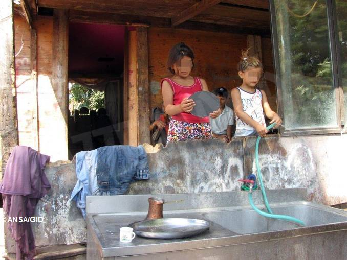 bambini rom ansa