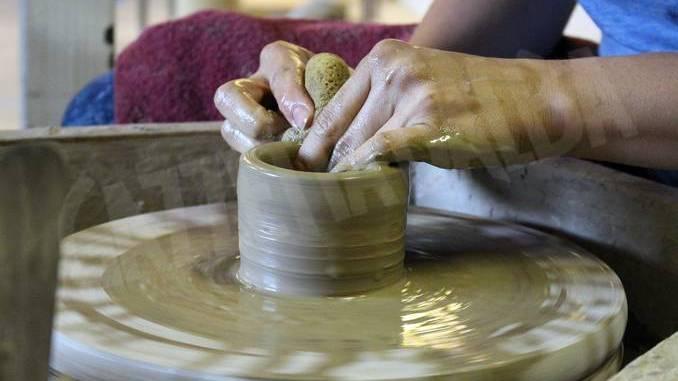 La ceramica, un corso per bambini a palazzo Traversa