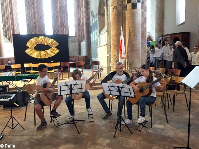 concerto benvenuto liceo musicale chitarristi Pertini (9)