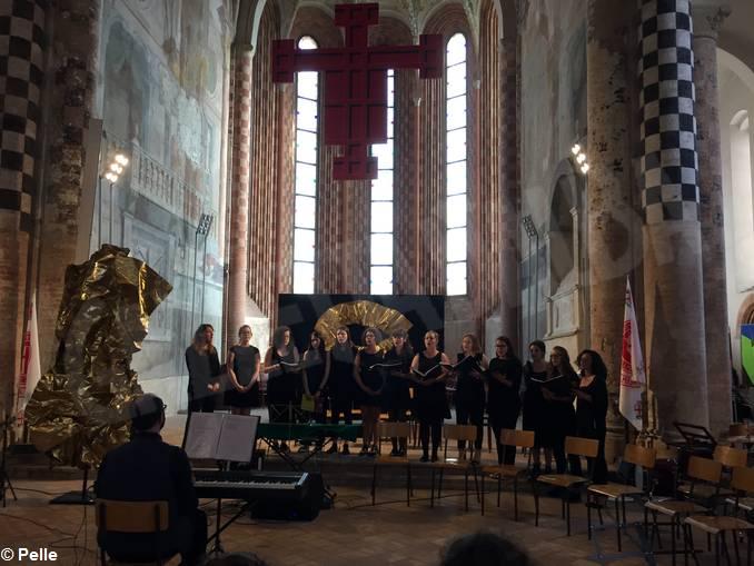concerto benvenuto liceo musicale coro Da Vinci(2)
