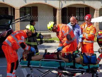 La Croce verde di Asti vince a Dogliani la gara di primo soccorso