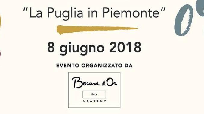 Piemonte e Puglia si incontrano in attesa della selezione europea del Bocuse d'Or