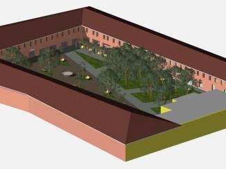 Alba 2019 lancia l'idea di realizzare giardino nel cortile della Maddalena