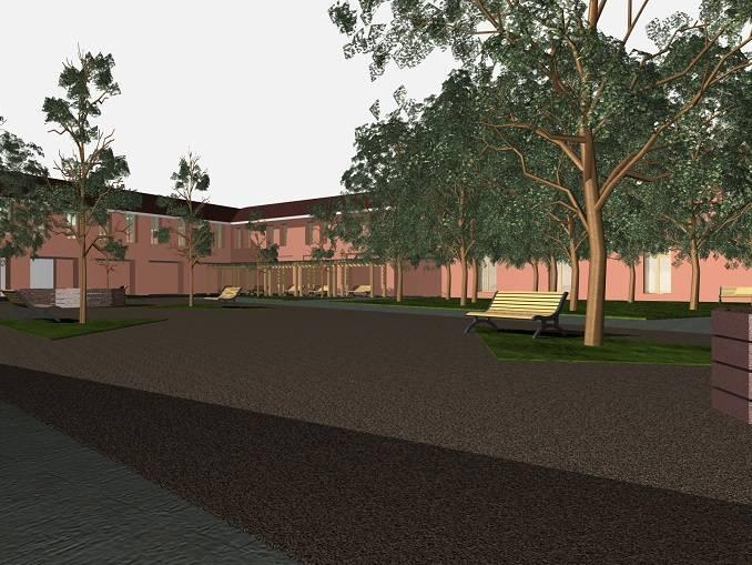 Alba 2019 lancia l'idea di realizzare un giardino nel cortile della Maddalena