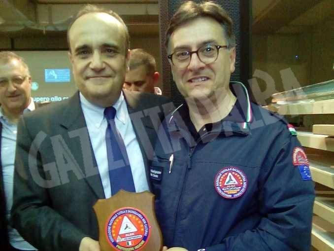 Il ministro Bonisoli premia il lavoro di Proteggere insieme