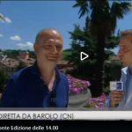 Il Tg3 regionale in diretta da Barolo assieme a Gazzetta