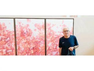 Nell'Aula picta di Barolo, fino al 27 luglio, espone Luo Zhi Yi