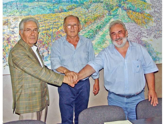 Giuliano Noè Lorenzo Giordano e Beppe Rattazzo