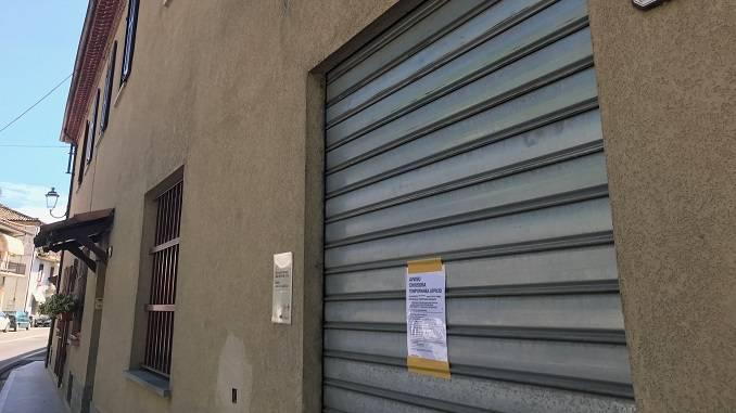 Evacuato e dichiarato inagibile l'ufficio postale di Cossano Belbo