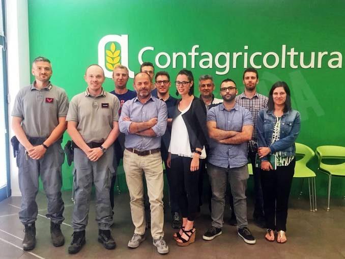 Confagricoltura incontra i carabinieri forestali