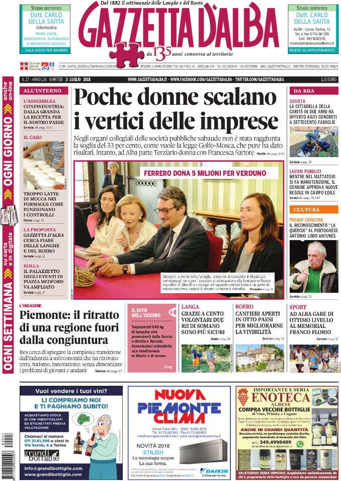 Prima_pagina_Gazzetta_Alba_27-2018