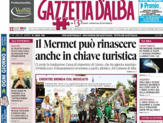 La copertina di Gazzetta in edicola martedì 24 luglio