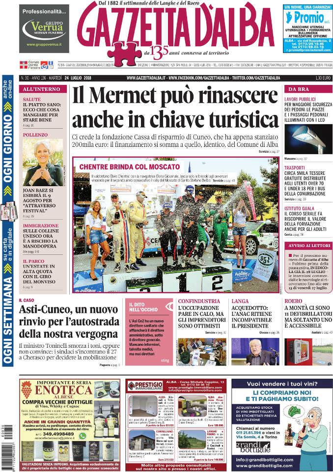 Prima_pagina_Gazzetta_Alba_30-2018