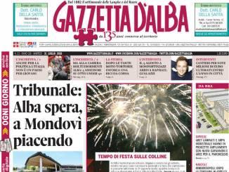 La copertina di Gazzetta in edicola sabato 28 luglio