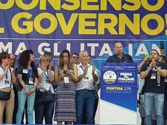 Giorgio Maria Bergesio (Lega): «A Pontida grande testimonianza di affetto verso Salvini»