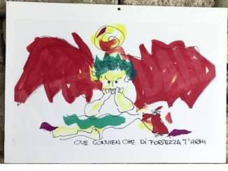 Un gruppo di artisti ha immaginato Dante nell'alta Langa