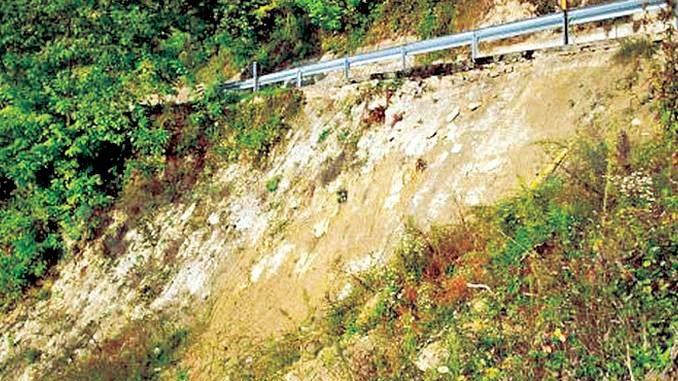 Sarà sistemata la frana sulla strada provinciale per Lequio Berria