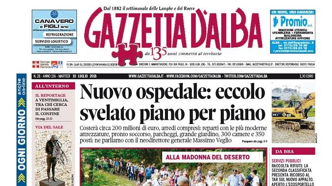 La copertina di Gazzetta in edicola martedì 10 luglio