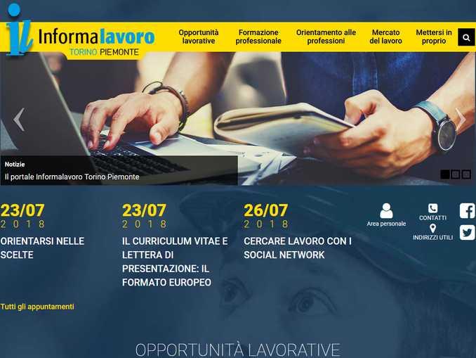 home page portale informalavor