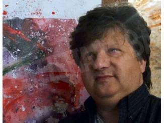 Panelli espone i suoi Paesaggi lenti nella cantina comunale di La Morra 1