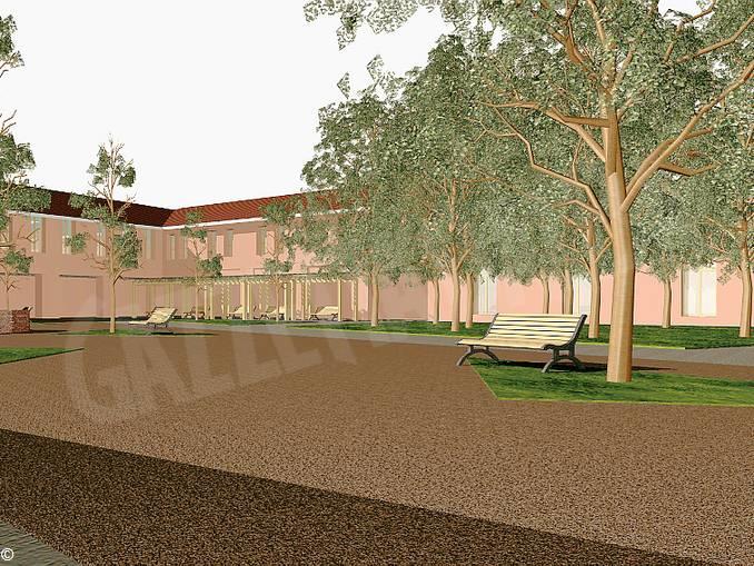 progetto cortile Maddalena