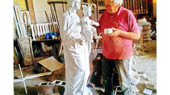La statua di Maria Ausiliatrice torna a casa