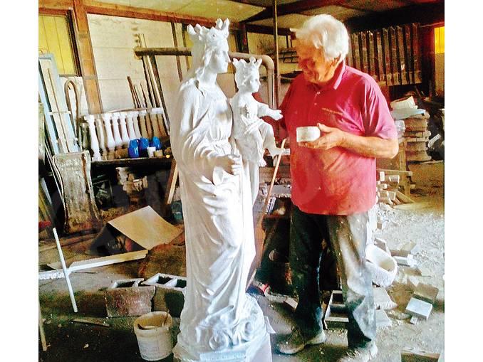 restauro statua Diano