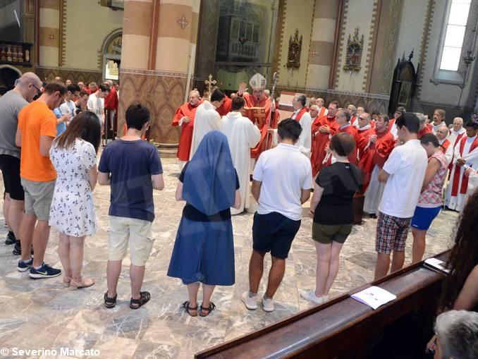 Giovani in partenza per incontro con Papa Francesco – 1