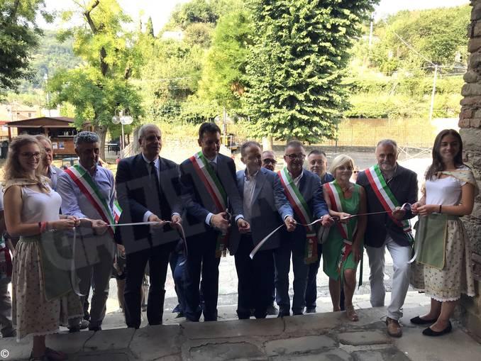 Inaugurazione sagra della nocciola Cortemilia