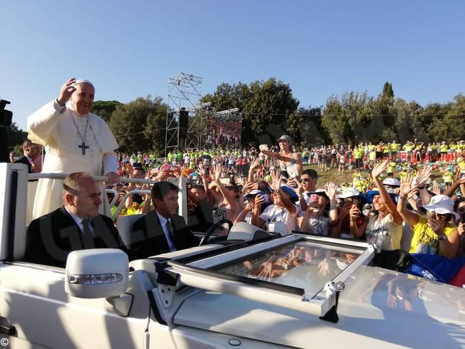 Veglia Circo Massimo papa