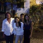L'attrice statunitense Michelle Rodriguez in vacanza a Monforte