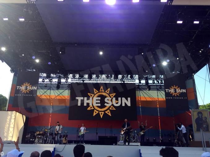 concerto the Sun Circo Massimo