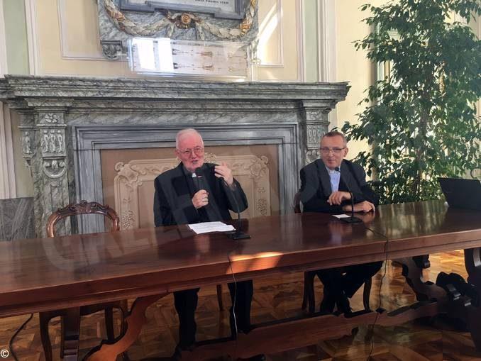 Monsignor Cesare Nosiglia annuncia il nuovo Vescovo di Asti