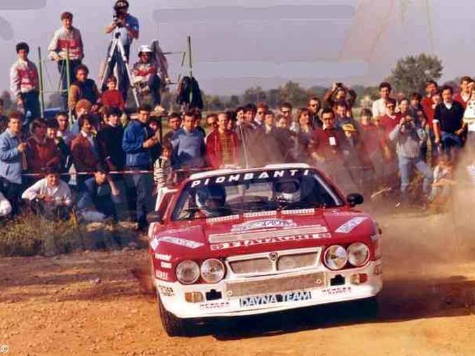 rally di Carmagnola 1982