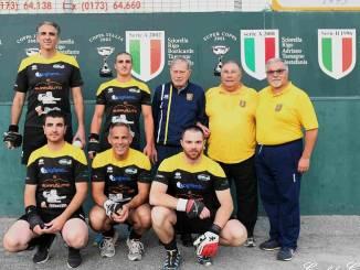 Pallapugno Serie B: la Bogliano Surrauto Monticellese in semifinale