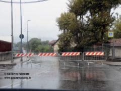 Sottopassi e garages allagati a San Cassiano e in corso Europa 8