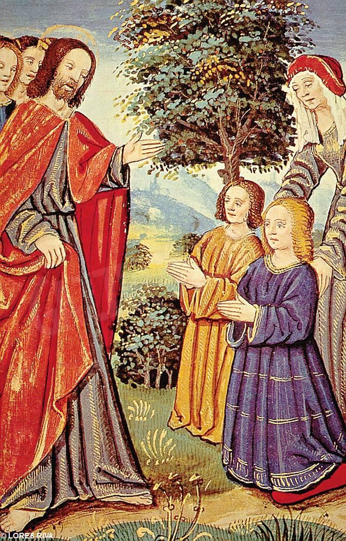 Gesù con i fanciulli