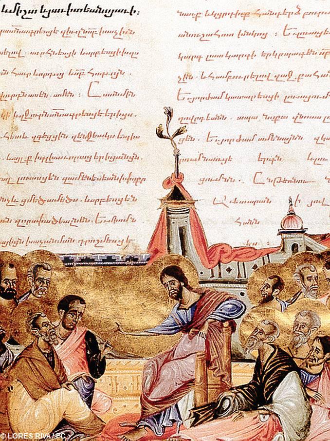 Gesù parla discepoli