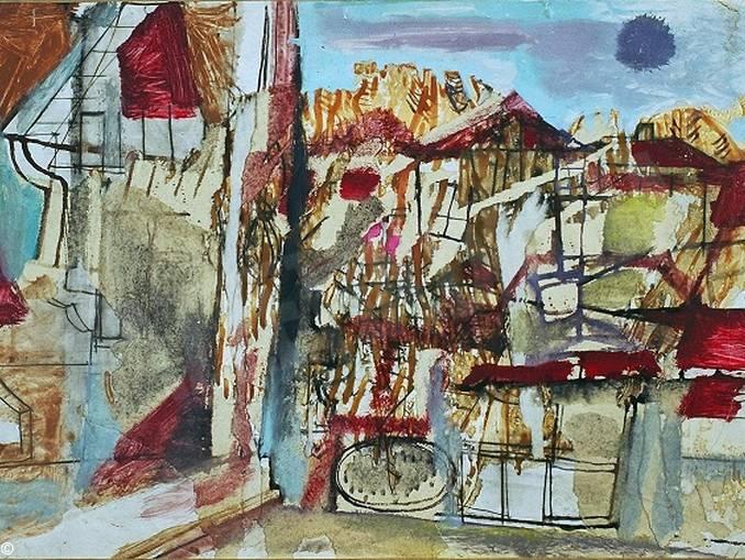 Mario Lattes – Senza titolo (3) – in mostra a Torinobd