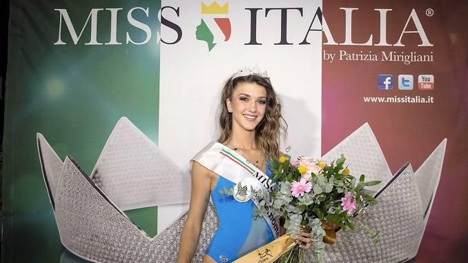 Un sogno e la bellezza, la finalista romagnola di Miss Italia 2018