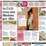 La copertina di Gazzetta in edicola martedì 4 settembre