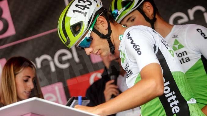 CICLISMO: Giro U23, il primo hurrà è del britannico Ethan Hayter