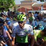 Al Giro d'Italia Under 23 Sobrero perde terreno a causa di una caduta